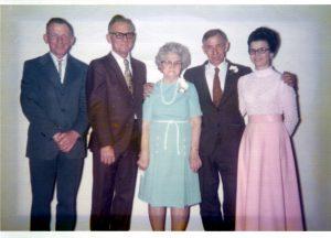1974 Venus Pierce Family