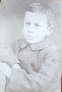 Venus Pierce as a child
