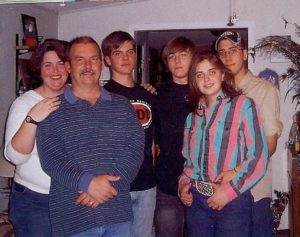 Family of Curtis and Amy Simer