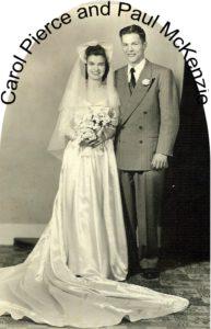 PAUL AND CAROL MCKENZIE