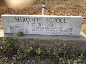 Marcotte School Memorial